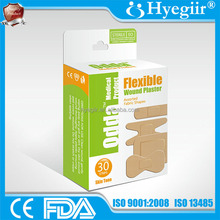 Assorted Pack Flexible Functional Plaster with CE, FDA Certificates