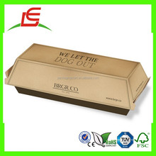 J033 Customized Paperboard Hot Dog Box for Sales