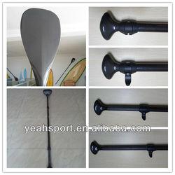 Two-piece carbon fiber surfboard paddle/oar