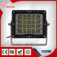 High power 7300lm 100W led spotlights for SUV ATV Truck