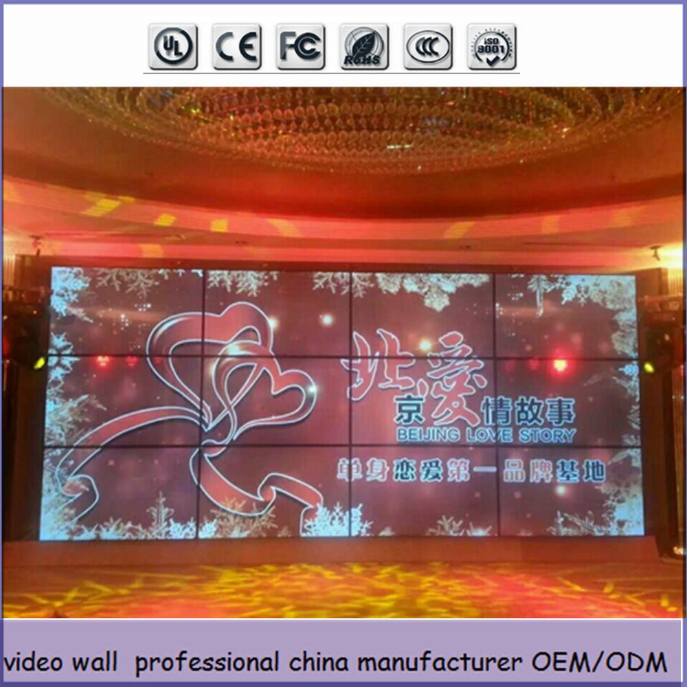 con samsung led display HD 4x4 ha videowall pareti 46 pollici ...