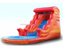 16' Fire & Ice Water Slide Inflatable
