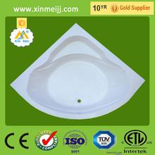 Reasonable price chinese quality corner bathtub installation