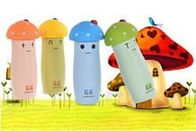 originality convenient mushroom promotional water bottles double wall vacuum flask