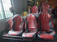 Hydraulic/Electric 6/8/9/12 Seats 6Dof Motion Platform For 5D Cinema