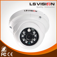 LS VISION POE two-way voice intercom dome cctv camera 5mp ip surveillance camera