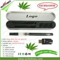 2015 Ocitytimes co2 oil thc vaporizer, 510 Vaporizer CBD oil vape, bbtank t1 bud touch O pen