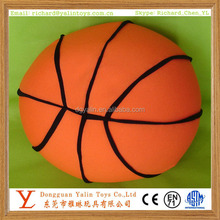 Most popular and high quality plush&stuffed toys basketball 2015 new design for kids