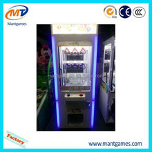 Children catch prize game machine/amusement toy prize claw crane machine/crane and prize machine for adult