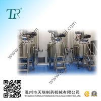 Pharmacy Stainless Steel Vacuum Mixing Tank