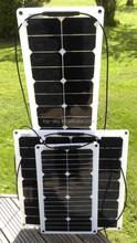 High Efficiency SUNPOWER 80W Flexible Solar Panels,80W Flexible Solar Panels/Modules with SUN POWER CELLS