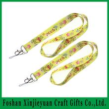 stoff und eingewebtem logo schlüsselband mit kartenhalter für alibaba Kunden von guangdong china