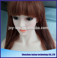 New 3D realistic solid full silicone sex doll with long wig for men sex product toys,free sex usa massage hot tub158CM