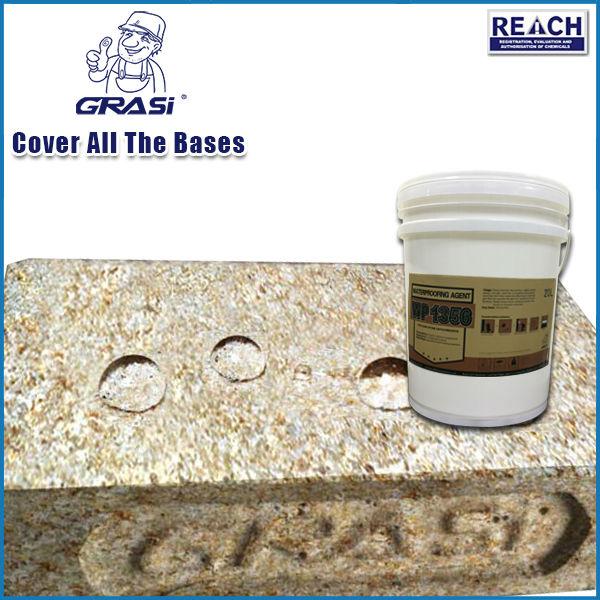 Proteção de artesanato de pedra de revestimento impermeabilizante de agente baseado em silício orgânico