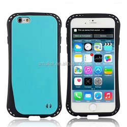 Hot sellig PC+TPU shockproof case for iPhone 6 Plus