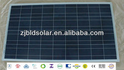 100 wp poly solar panel&100 watt multi solar modules 36P with TUV/VDE/CE/UL/MCS/SON/PV CYCLE