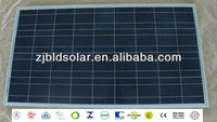 100 wp poly solar panel&100 watt multi solar modules 36P with TUV/VDE/CE/UL/MCS/SON/PV CYCLE
