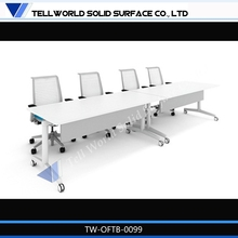 Latest Modern design office Furniture office cubicles 4 seat