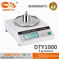 Chinese acs electronic banlance scale,DTY1000 blance scale