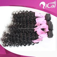 6A 100% unprocessed virgin hair extensions ,brazilian human hair