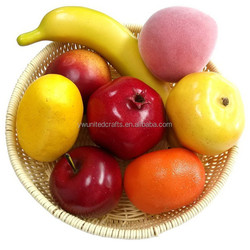 2016 Decorative Fruit Grapes Apple Display Artificial Food Fake Faux