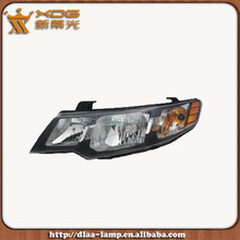 auto spare parts auto head light , car front headlight for forte 2009 2012 lighting prices auto car lights