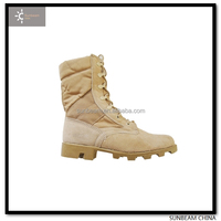 2014 New Design High Quality Suede cow Leather Military Desert Boots / fast delivery