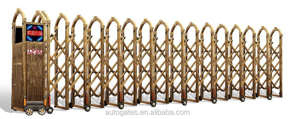 t lescopique portail coulissant autogate industries aluminium portes et rails automatique porte. Black Bedroom Furniture Sets. Home Design Ideas