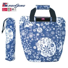 New desgin beautiful foldable shopping bag 2015 (pk-11545)