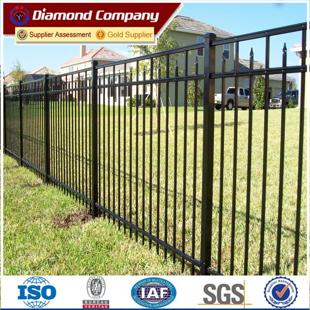 Galvanized steel garden fence antique cheap