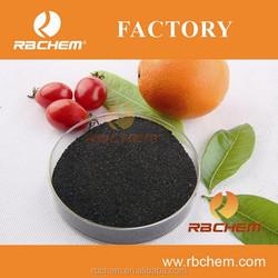 humic acid organic fertilizer for rubber tree