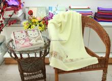 2015 fashion desigh face towels custom luxury home printed towels