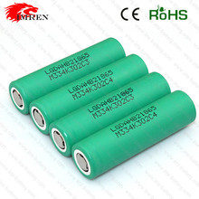In stock hot sale Li-Mn USA and EUORPE LG 18650 1500mAh 3.7V Li-Mn rechargeable battery with flat top