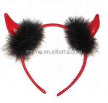 Good Quality Red And Black Color Toys Of High Quality Party Supplies Devil Horns Headband H7310