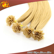 High Quality Full Cuticle 613# 20'' U-tip Pre-bonded Hair Extension Accept Paypal Payment