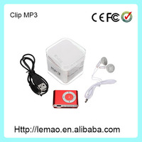 Hot sale mini clip manual reproductor mp3