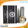 vidrio fumar pipa de agua martillo mod vape pluma mecánica mod