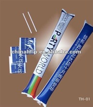 2012 hot selling inflatable cheering stick balloon