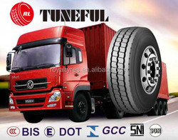 discount tire TUNEFUL brand wholesale used tires1200R24 truck parts