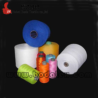 20/2 spun polyester Yarn on dyeing tube,polyester yarn with factory price