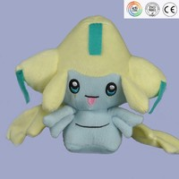 Japan Anime Cartoon Pokemon Stuffed toys Animals plush toy-Jirachi