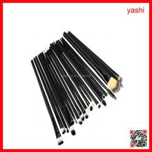 YASHI Top quality new design makeup brush sets 20pcs nylon hair makeup brushes set