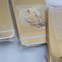 Attactive new design housing for apple iphone 6/ 6 plus 24kt gold cover , customzied by U