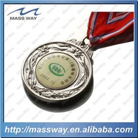 custom competition embossed brass or zinc alloy metal souvenir medal