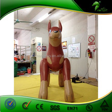 Giant PVC inflatable promotional inflatable dog model hot sale