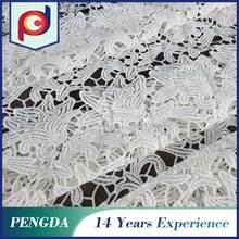 China Manufacturer High quality Cheap Woven 3d embroidery fabric