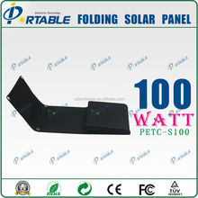 100W solar cell charger charger for boat battery and loptop