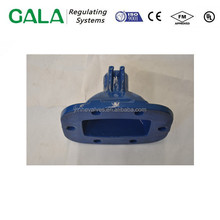 ISO certificated customized big size iron casting gate valve