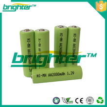 ni mh aa 500mah 1.2v rechargeable batteries 200 amp