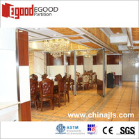mdf wood acoustic panel movable partition